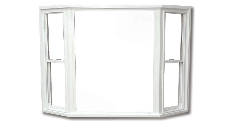 White bay/bow window