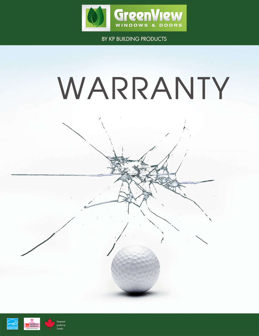 Greenview warranty